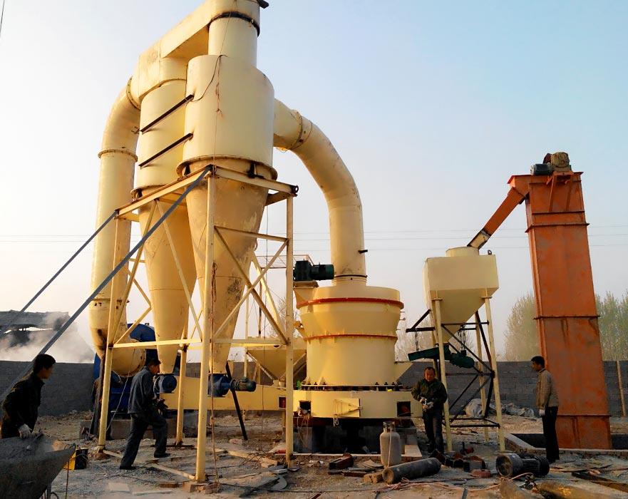 山西时产5吨铝矾土磨粉生产线