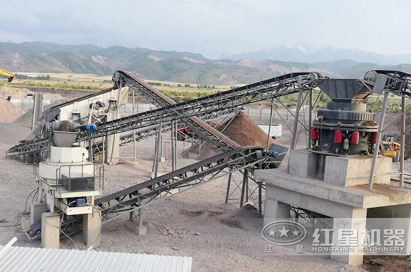 江西赣州时产150吨制砂生产线