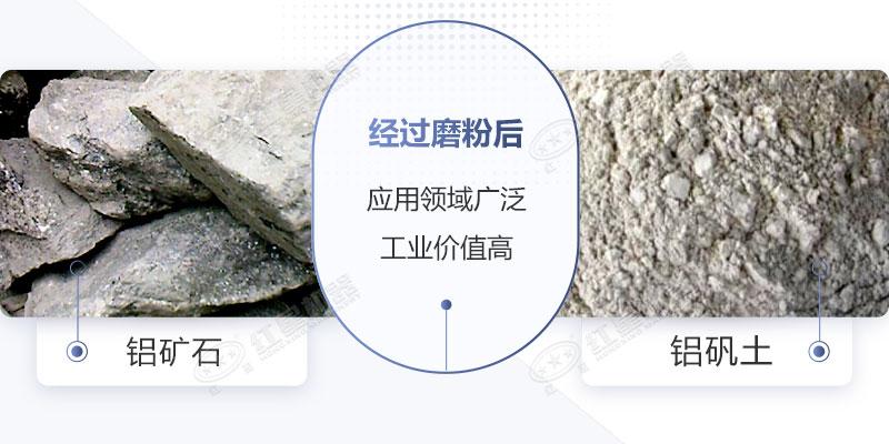 铝矾土矿磨粉加工图