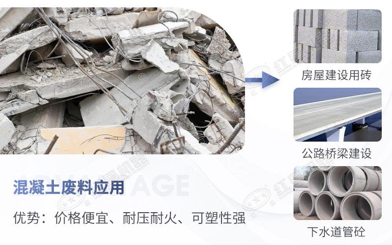 混凝土废料再利用优势多