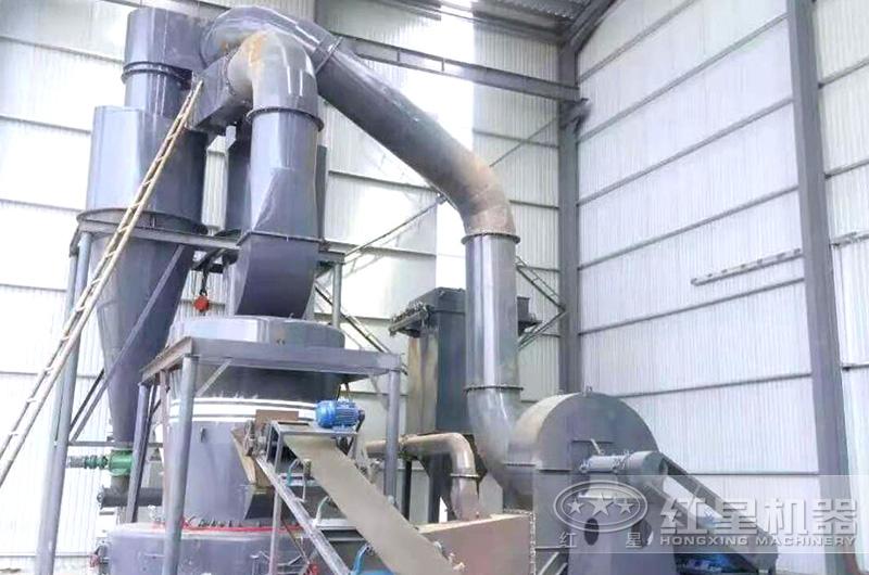 雷蒙磨粉机加工现场