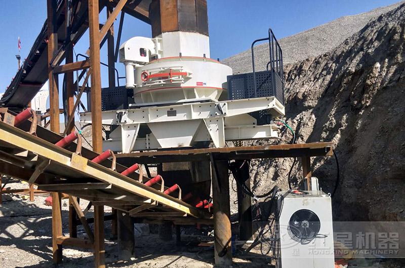 沙石料厂生产现场