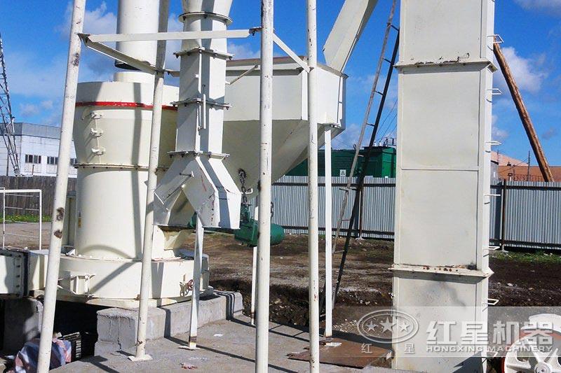 磨粉机生产现场