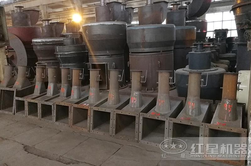 磨粉机生产车间