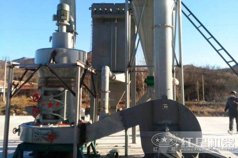 煤矸石磨粉机现场